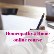 homeopathy@home course